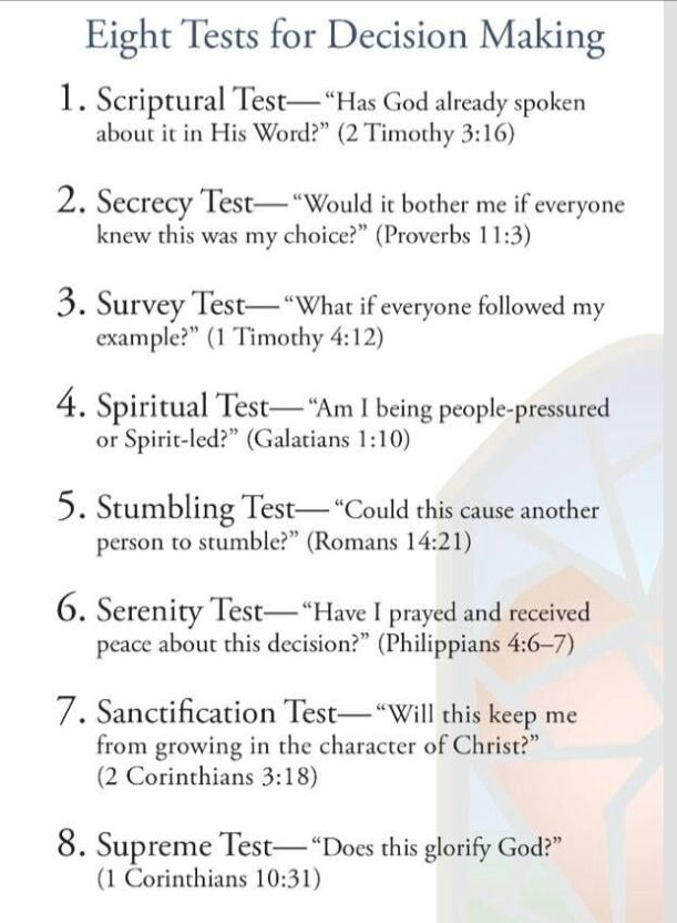 Making decisions and Godu0027s word Bible Verses and Christian - make a survey in word
