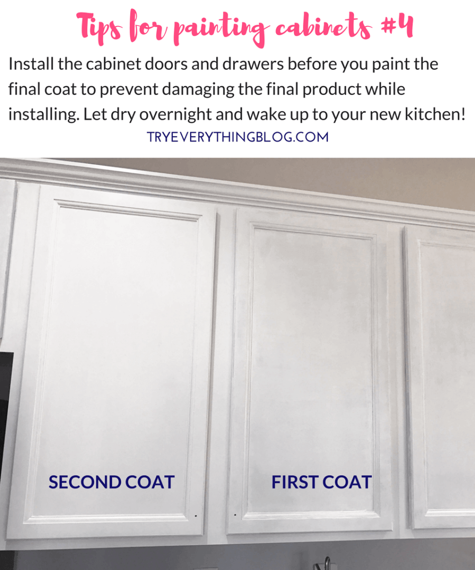 The Fastest Way To Paint Kitchen Cabinets With The Best Results 4 Days Less Than 200 Try Everything Cabinet Doors Painting Kitchen Cabinets Kitchen Cabinets