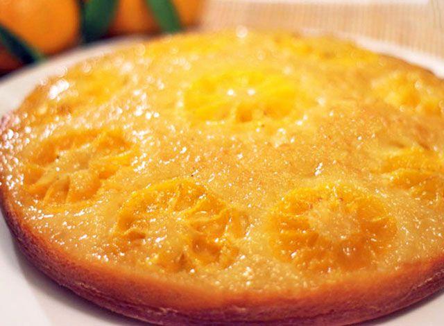 Gâteau Léger Renversé à la Clémentine WW