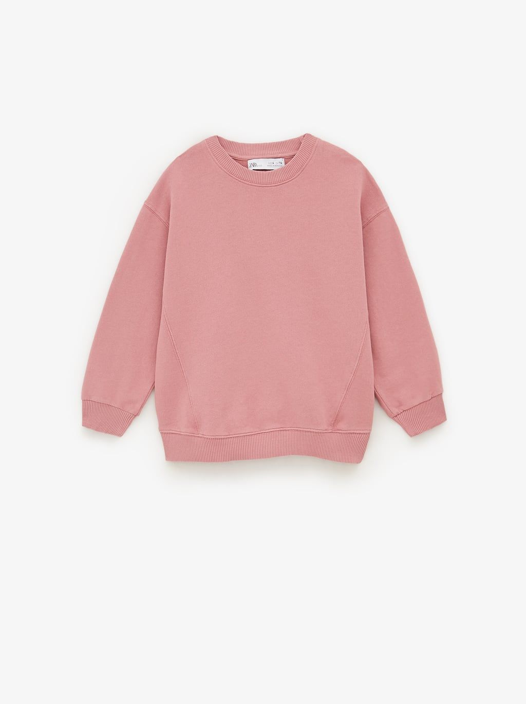 Edited Sweatshirt With Seam Details Sweatshirts Girl 6 14 Years Kids Zara United States Sweatshirt