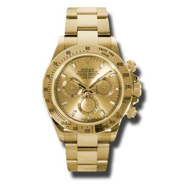 Rolex Daytona Cosmograph Yellow Gold Gold Dial Watch 116528CSO