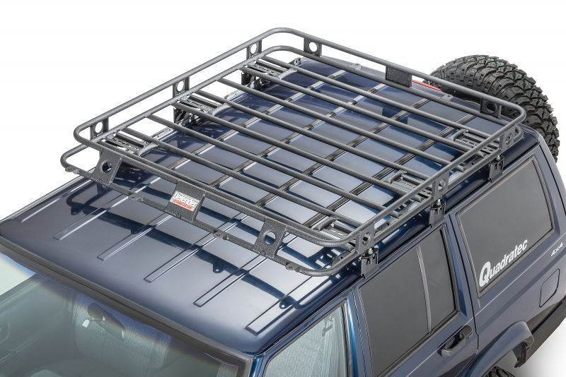 Smittybilt Defender Roof Rack For 84 89 Jeep Cherokee Xj With Factory Roof Rack Mount Roof Rack Jeep Cherokee Xj Smittybilt