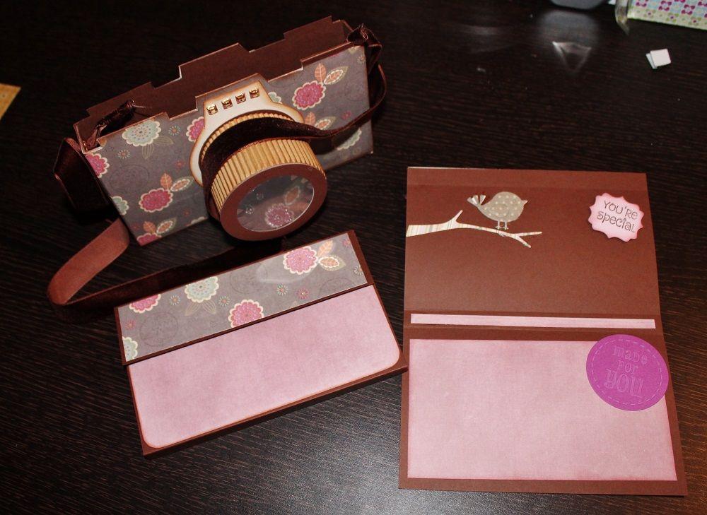 Chocolate camera box album card my scrapbook albuns pinterest album solutioingenieria Gallery
