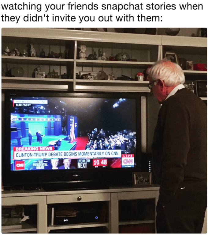 Followers Bernie Sanders Iowa Victory Speech Reactions Dungeons And Dragons Memes Dnd Funny Funny Relatable Memes