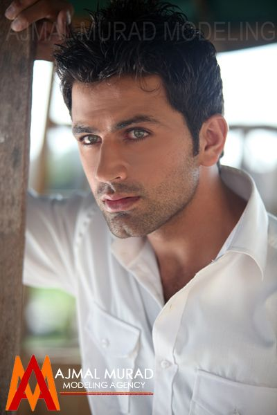 Pakistani Male Model Asad Zaman  Handsome  Pakistani -1161