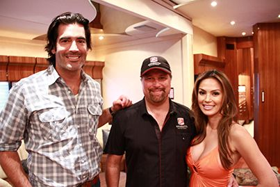 Carter Gets The Vip Tour With Michael Andretti And His Wife On Celebmotorhomes See More Celebrity Motor Homes Here Http Celebrities Star Trailer Motorhome