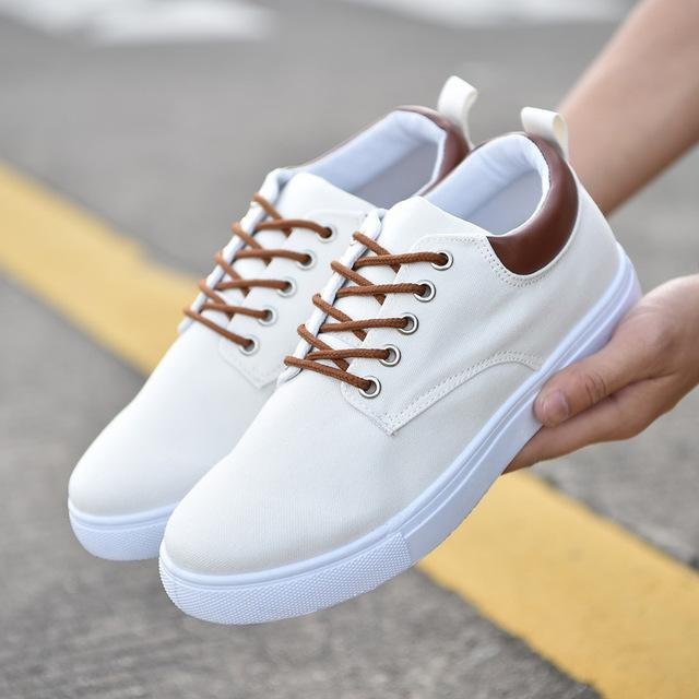New Arrival Comfortable Casual Shoes – White / 7.5