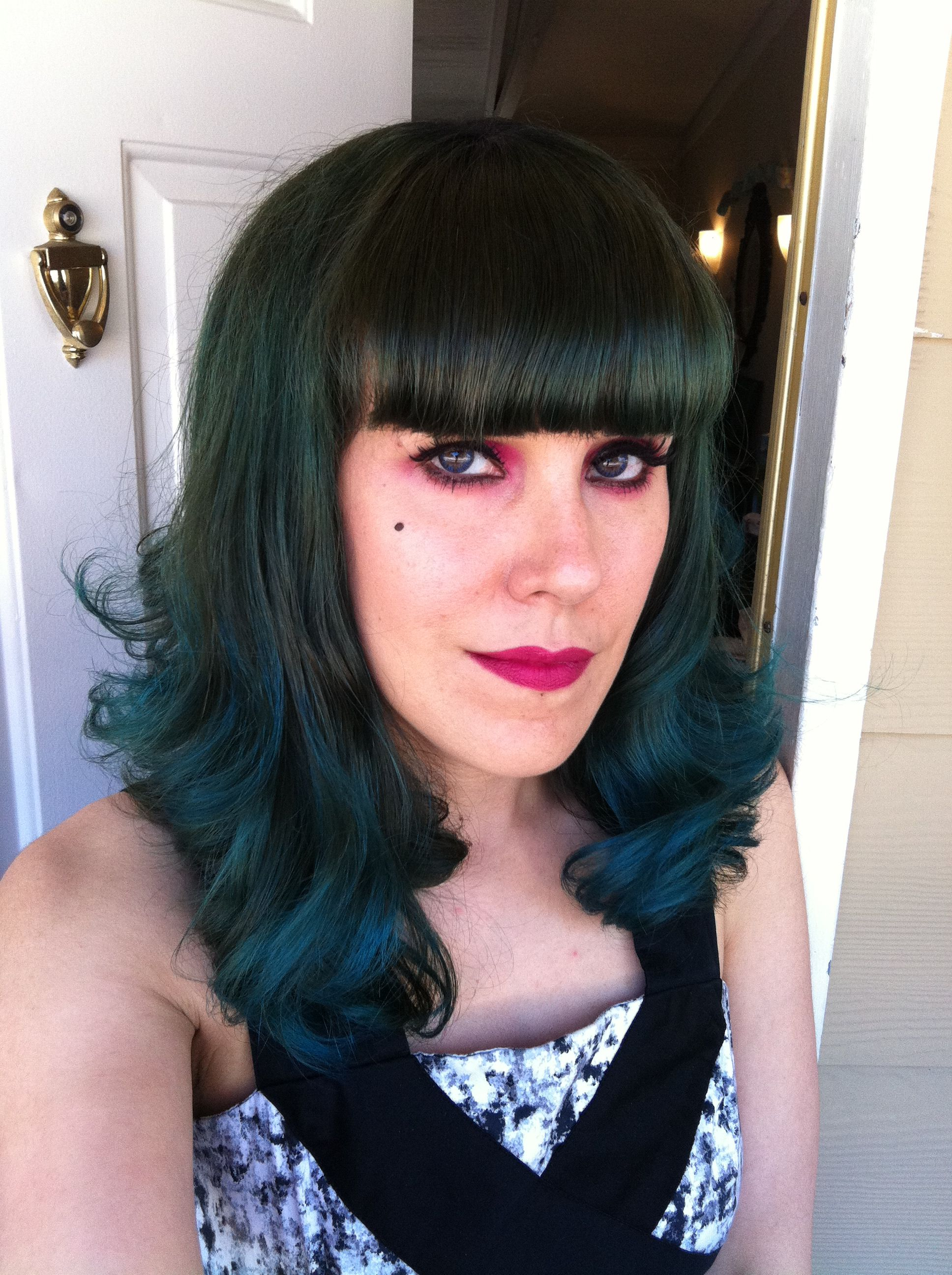 Sally Beauty Ion Color Brilliance Semi Permanent In A Mix Of Aqua