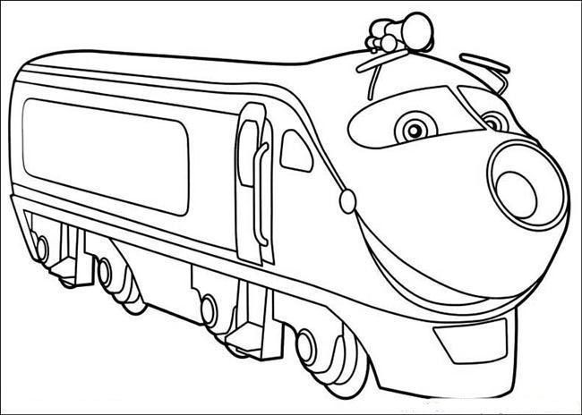 Chuggington Coloring Pages For Kids | Chuggington Coloring Pages ...