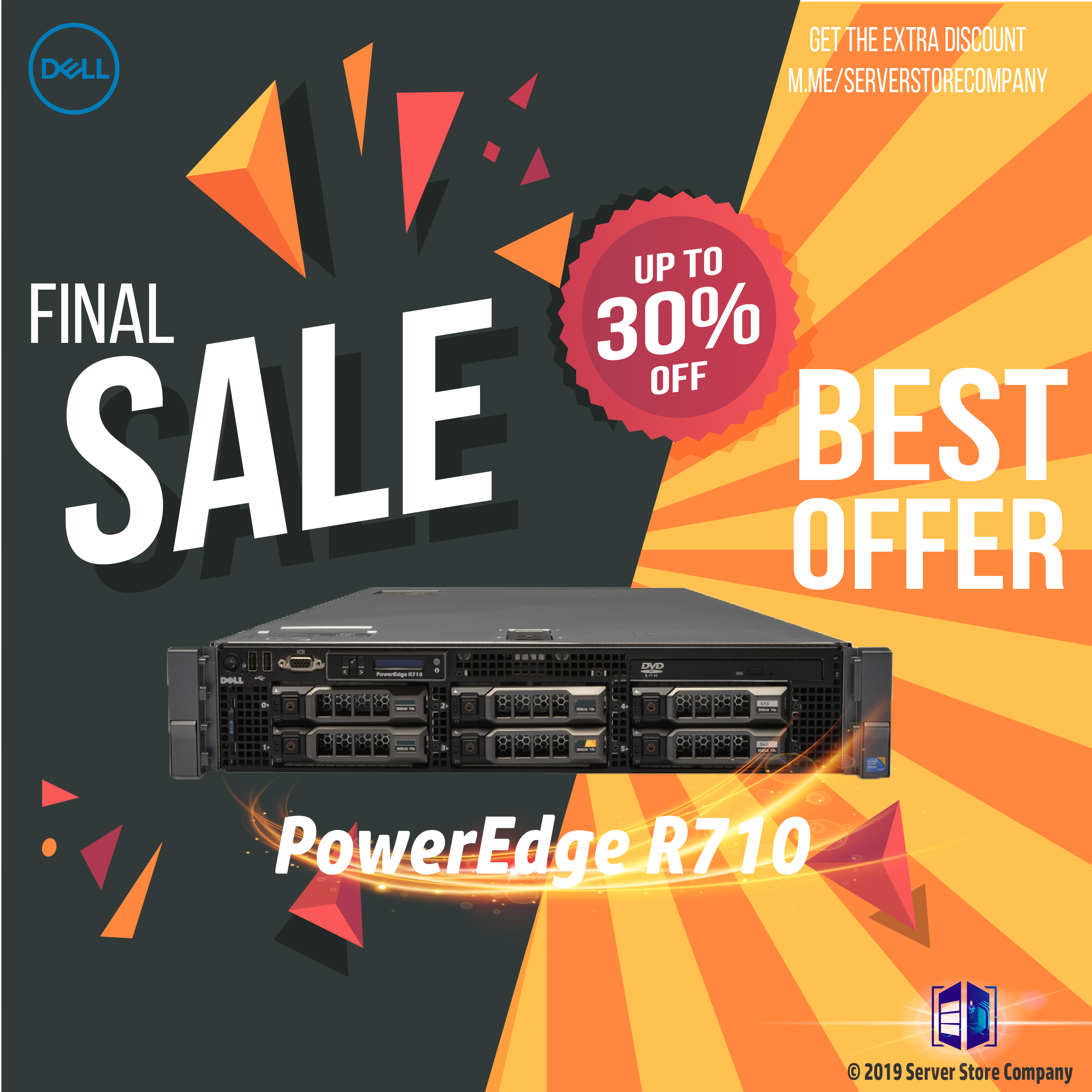 Dell ™ PowerEdge R710 The Dell PowerEdge R710, with the performance