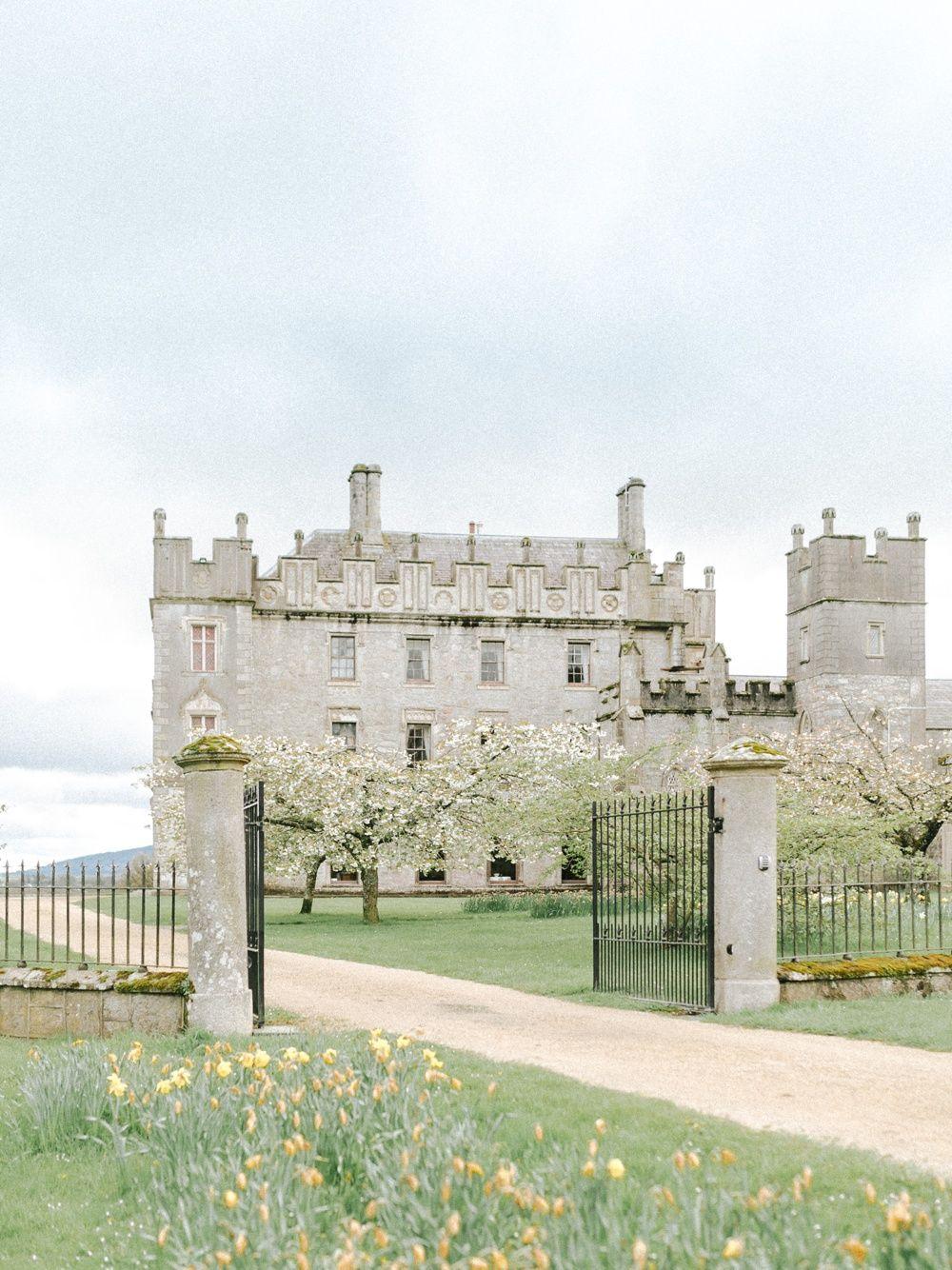Borris House Irish Country Estate Entrance Ireland Wedding