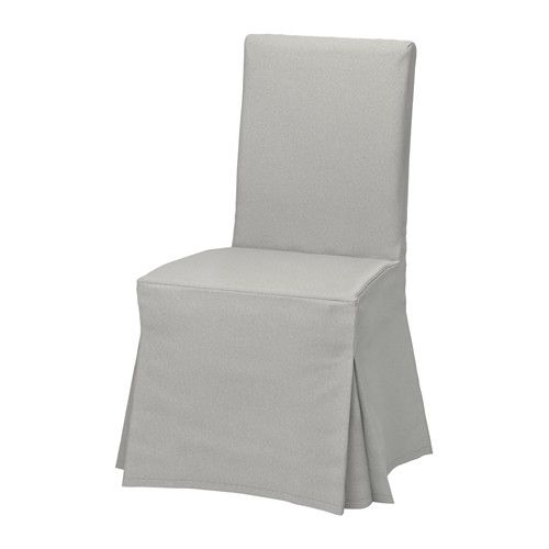Chair Covers Gray Zero Gravity Lawn Chairs Canada Henriksdal Cover Long Orrsta Light Home Ikea The Washable To Frame Is Easy Put On And Take Off