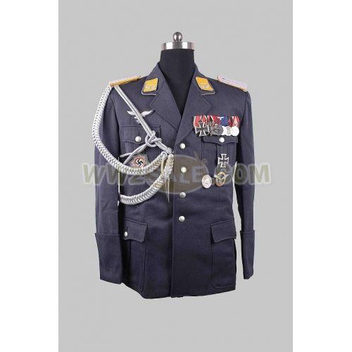 Single Breasted Lapel LW Officer Gabardine Jacket