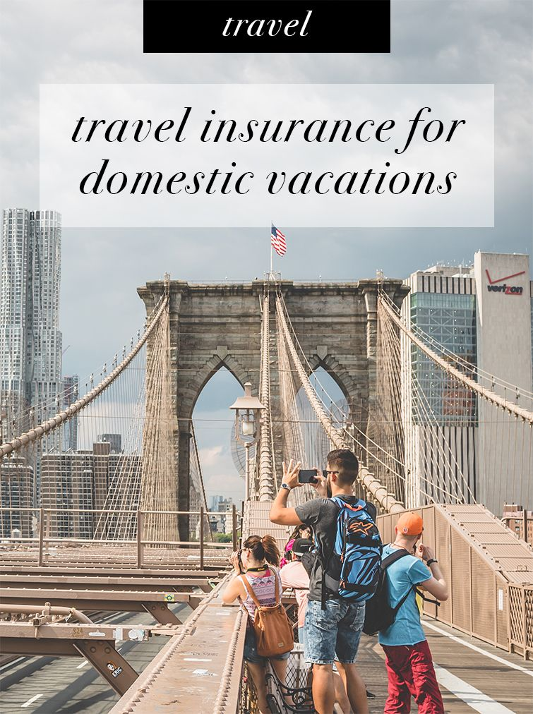 Travel insurance for domestic vacations (With images