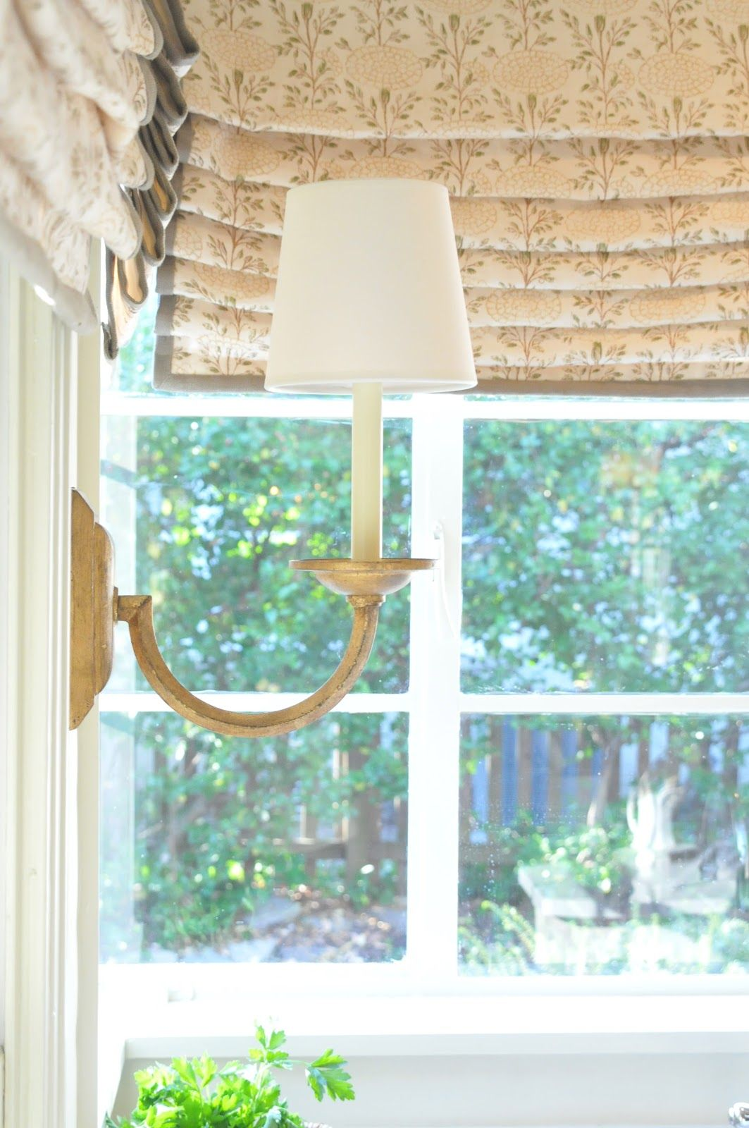 Nine Sixteen Pictures Of Our Kitchen Window Treatments Kitchen Window Treatments Savvy Southern Style