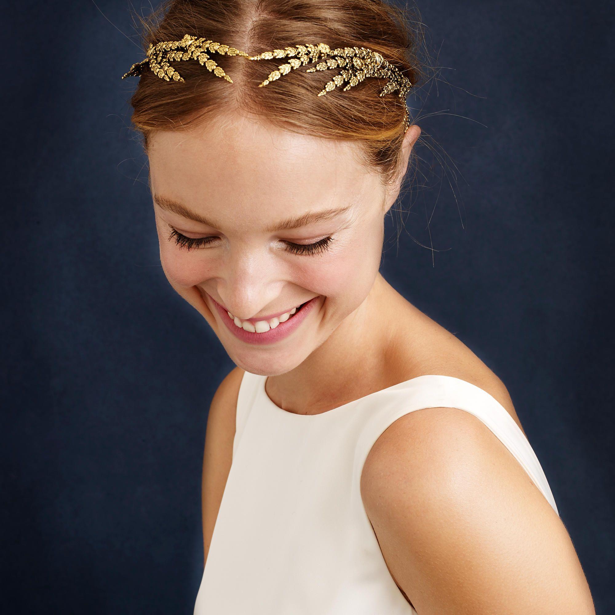 jennifer behr wheat crescent bandeau : jewelry & accessories | j