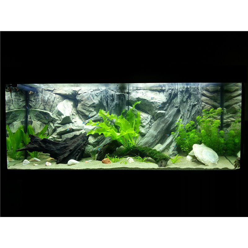 Erstaunlich Juwel Vision 260 aquarium background root for tropical fish tank  PC51