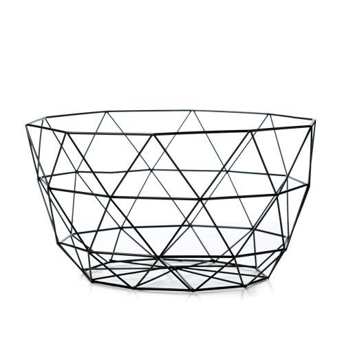 Home republic hexagonal wire bowl homewares home decorations art adairs online