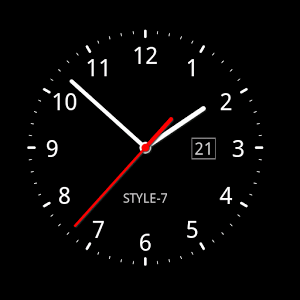 R Analog Clock As Application Live Wallpaper And Widget Use Long Touch To Call Menu For Application Clock Supports 12 2 Clock Wallpaper Clock Analog Clock
