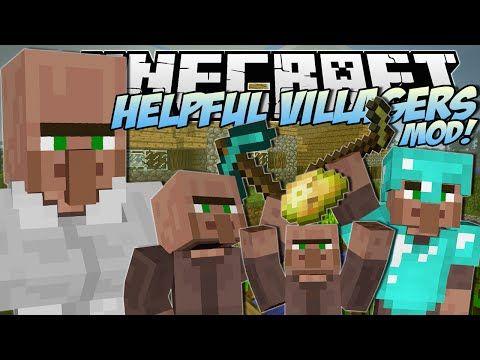 Minecraft helpful villagers mod create a villager army mod minecraft helpful villagers mod create a villager army mod showcase video sciox Images