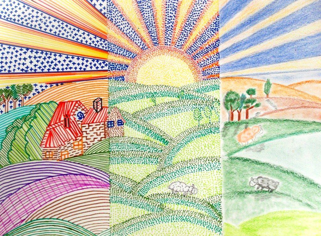 Resultado De Imagen Para Dibujo Con Lineas Y Puntos Dibujo Con Lineas Punto Y Linea Imagenes De Arte