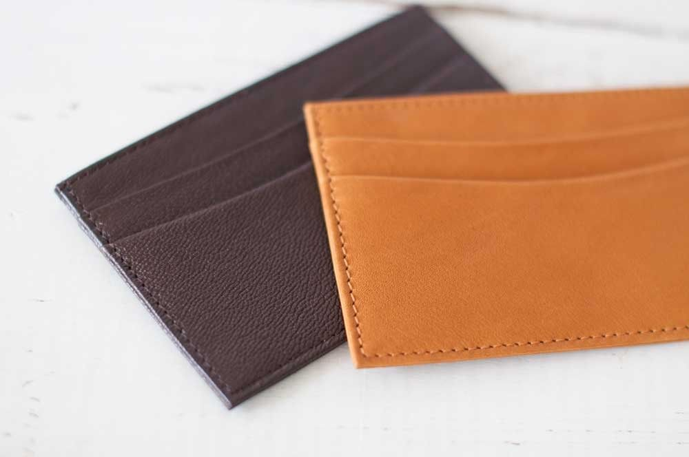 Charming Business Card Holder Leather Pictures Inspiration ...