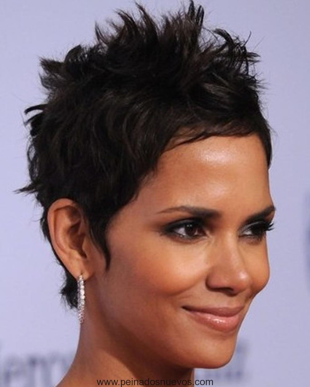 Corto de punta cortes de pelo y peinados para mujeres de