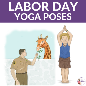 labor day yoga poses for kids inspiredoccupations