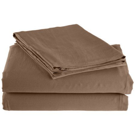 Impressions 300 Thread Count Rayon From Bamboo Sheet Set - Twin XL - Taupe, Gray