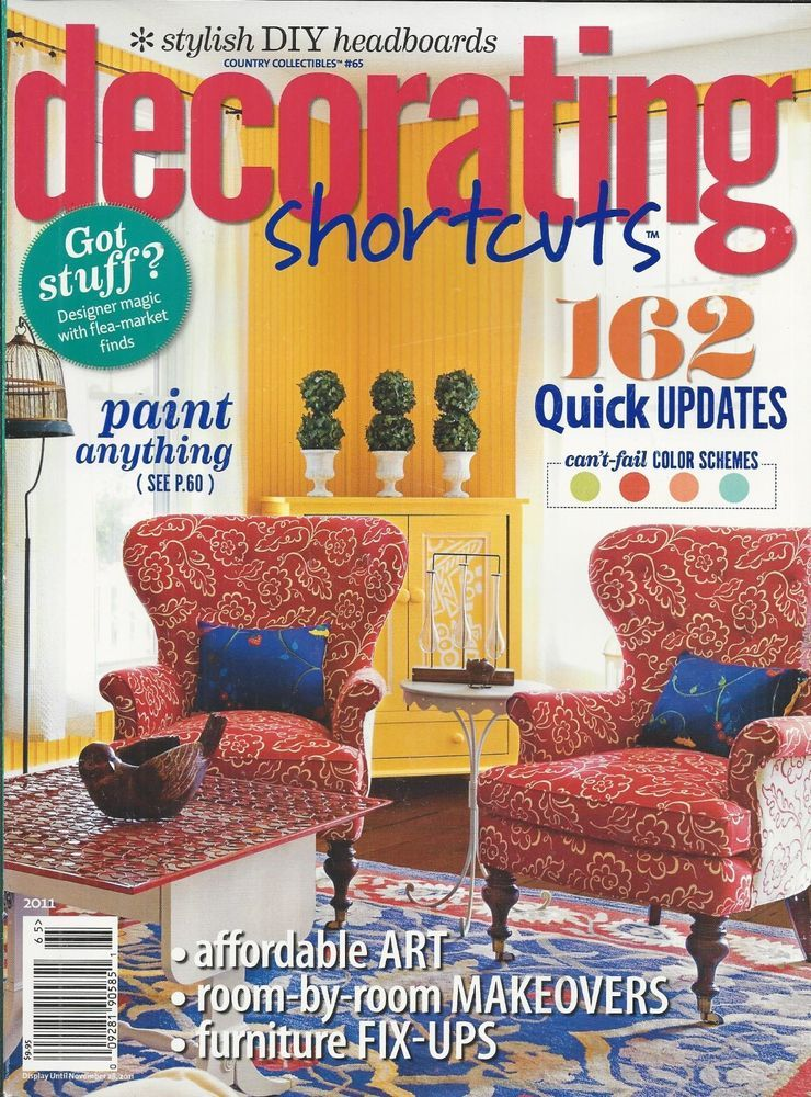 Decorating Magazines Amazing Decorating Shortcuts Magazine Affordable Art Room Makeovers Review