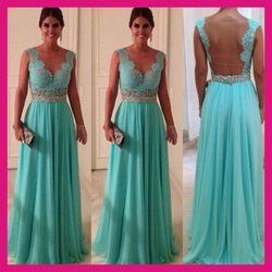 Online Shop La noche formal atractivo Backless largo vestidos de encaje 2015 Vestidos de boda Envío Gratis|Aliexpress Mobile