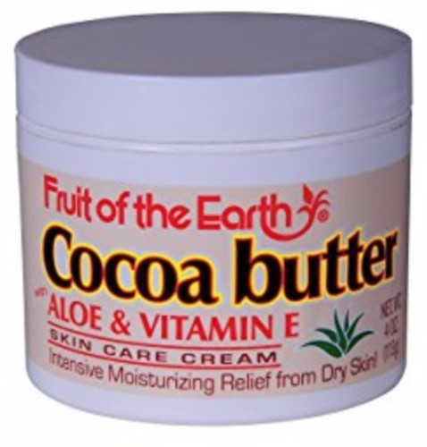 Fruit Of The Earth Cream Ivory Cocobutter 4 Oz Cocoa Butter Cream For Dry Skin Vitamins For Skin