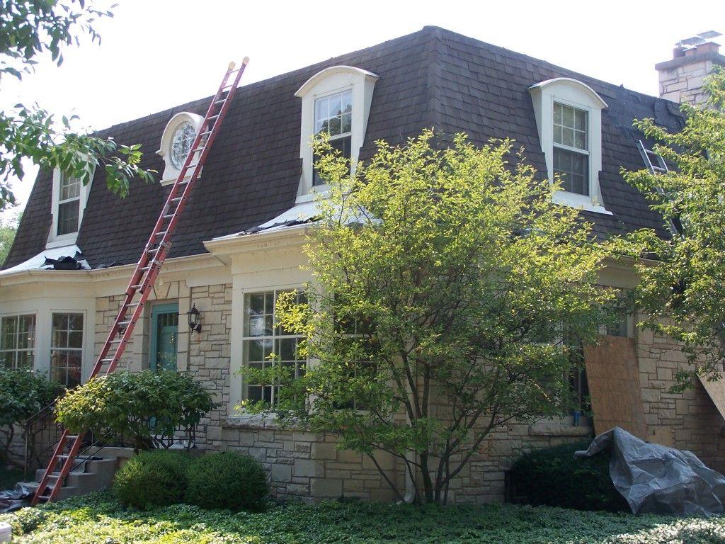 Image result for modern mansard roof windows house for Modern mansard roof