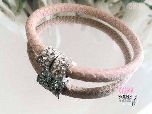 Candy for your wrist #lady #Leather  bracelet #rhinestone #magnetic #locker fashion armcandy