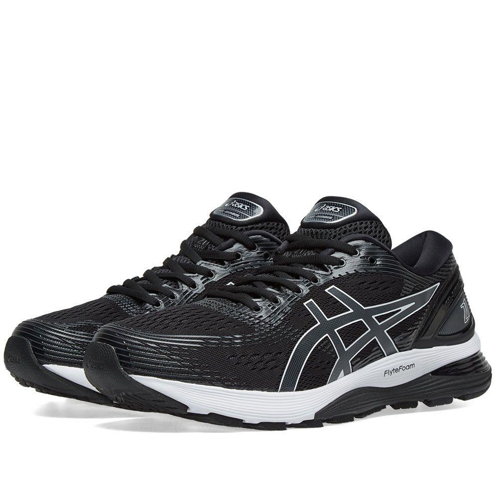 Asics Men S Gel Nimbus 21 Running Shoes In Black Asics Asics Gel Asics Men