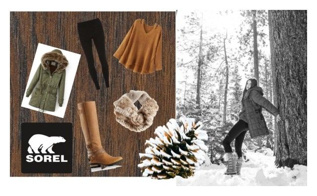 """""""Tame Winter with SOREL: Contest Entry"""" by emock2002 ❤ liked on Polyvore featuring Home Decorators Collection, SOREL, WithChic, Dorothy Perkins and sorelstyle"""