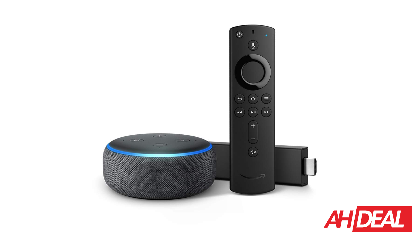 Amazon Fire TV Stick 4K & Echo Dot (3rd Gen) 59 Black