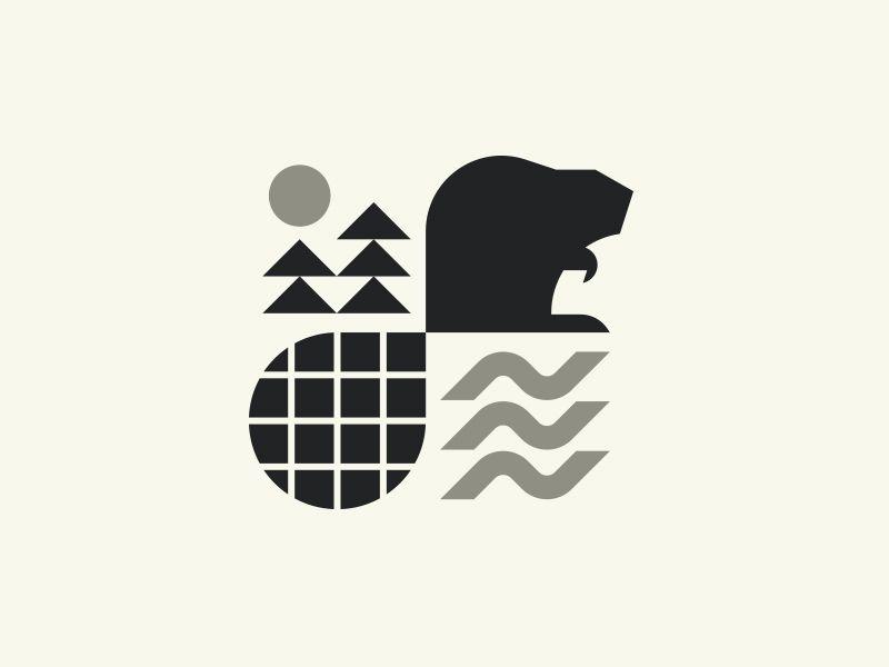 Leave It To This Guy Dribbble Beaver Logo Monogram Design