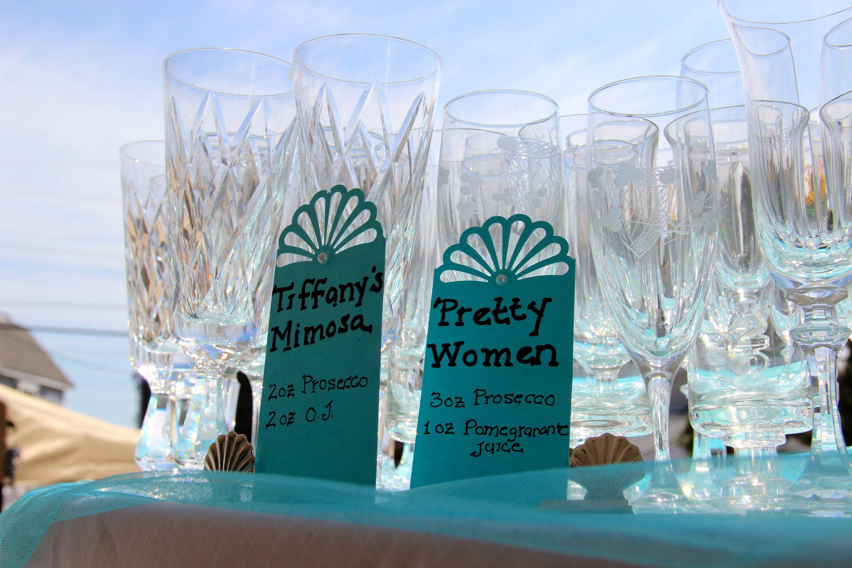 breakfast at tiffanys bridal shower drink ideas Tiffany