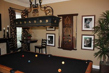 astonishing living room pool table | PHOTOS: 15 Billiards Rooms We'd Love In Our Home | Pool ...