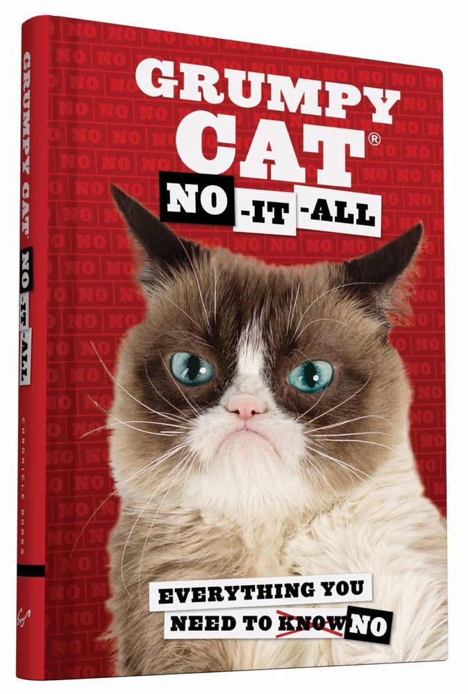Grumpy Cat: No-It-All: Everything You Need to No (2015, Hardcover)
