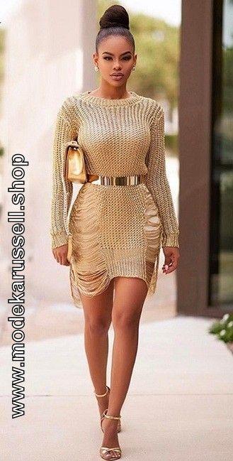 Gold Metallic Kleid Cocktailkleid 2018 in Beige | Cocktailkleider ...