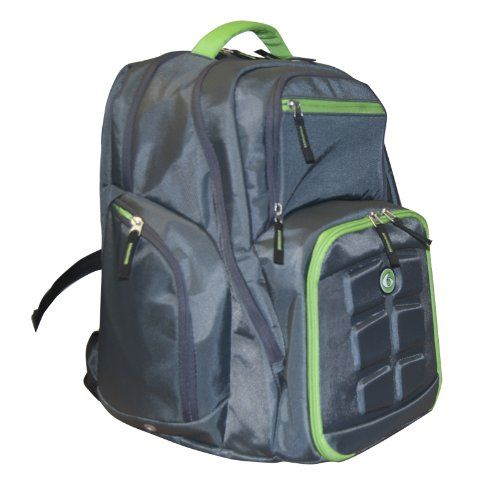 028a40adcd Amazon.com  6 Pack Fitness Expedition Backpack 300 Grey Green  Home    Kitchen