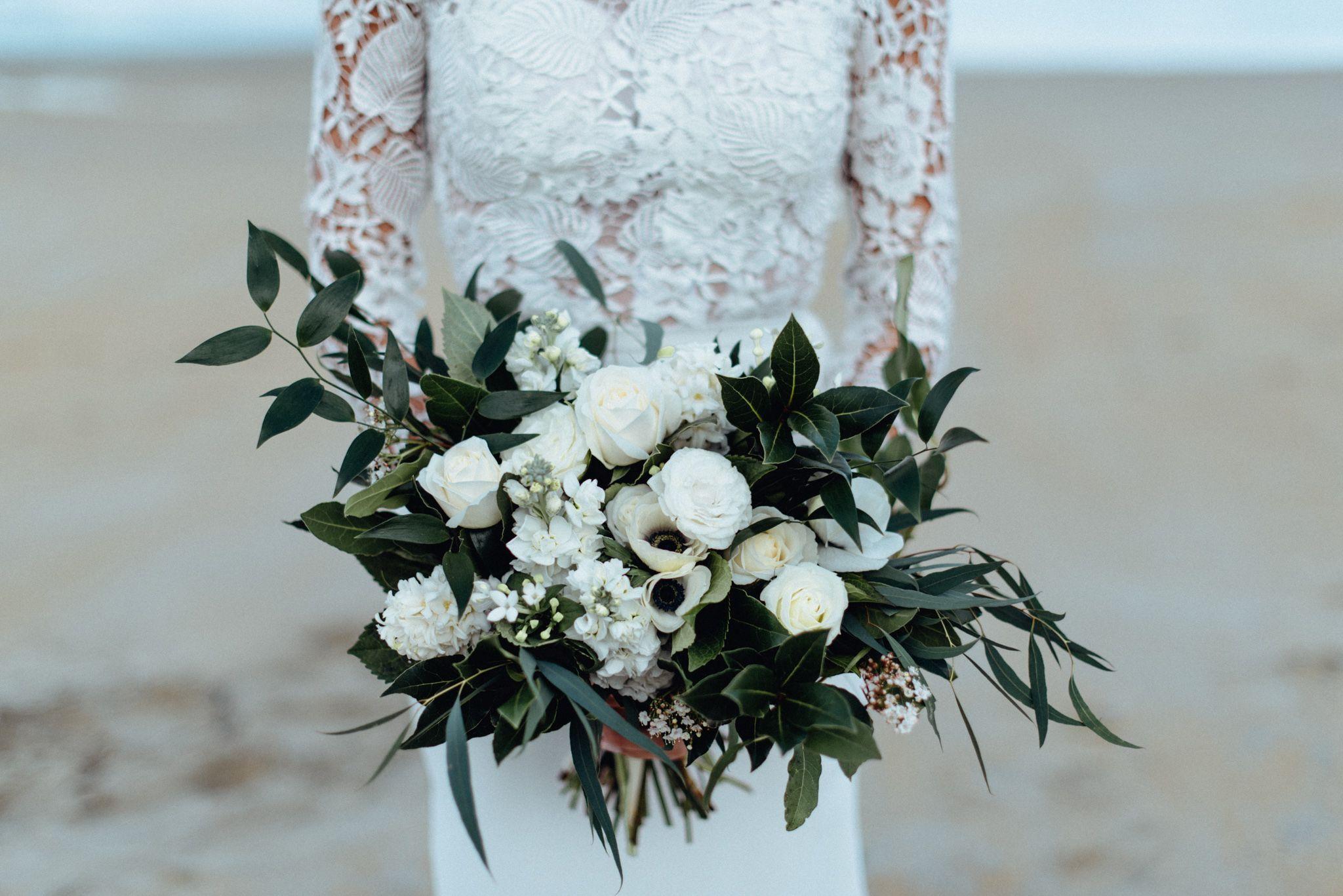 Acorn Photography - www.acornphotography.co.nz  Wedding, Beach Wedding, flowers, Wedding flower, Wedding Bouquet,