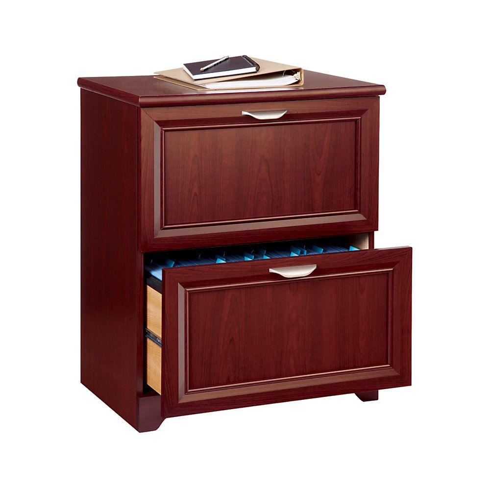 "Realspace Magellan 24"" 2-drawer Lateral File Cabinet"