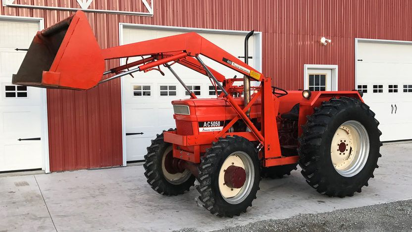 1977 Allis Chalmers 5050 MFWD With 400 Series Loader - 7