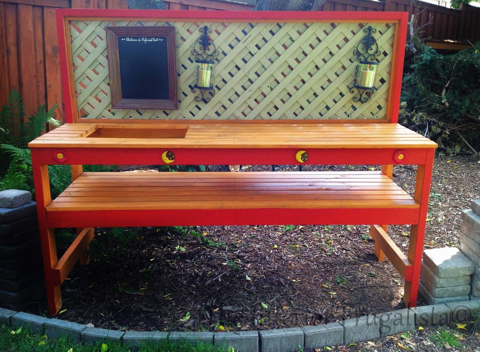 A Simple DIY Potting Bench You Can