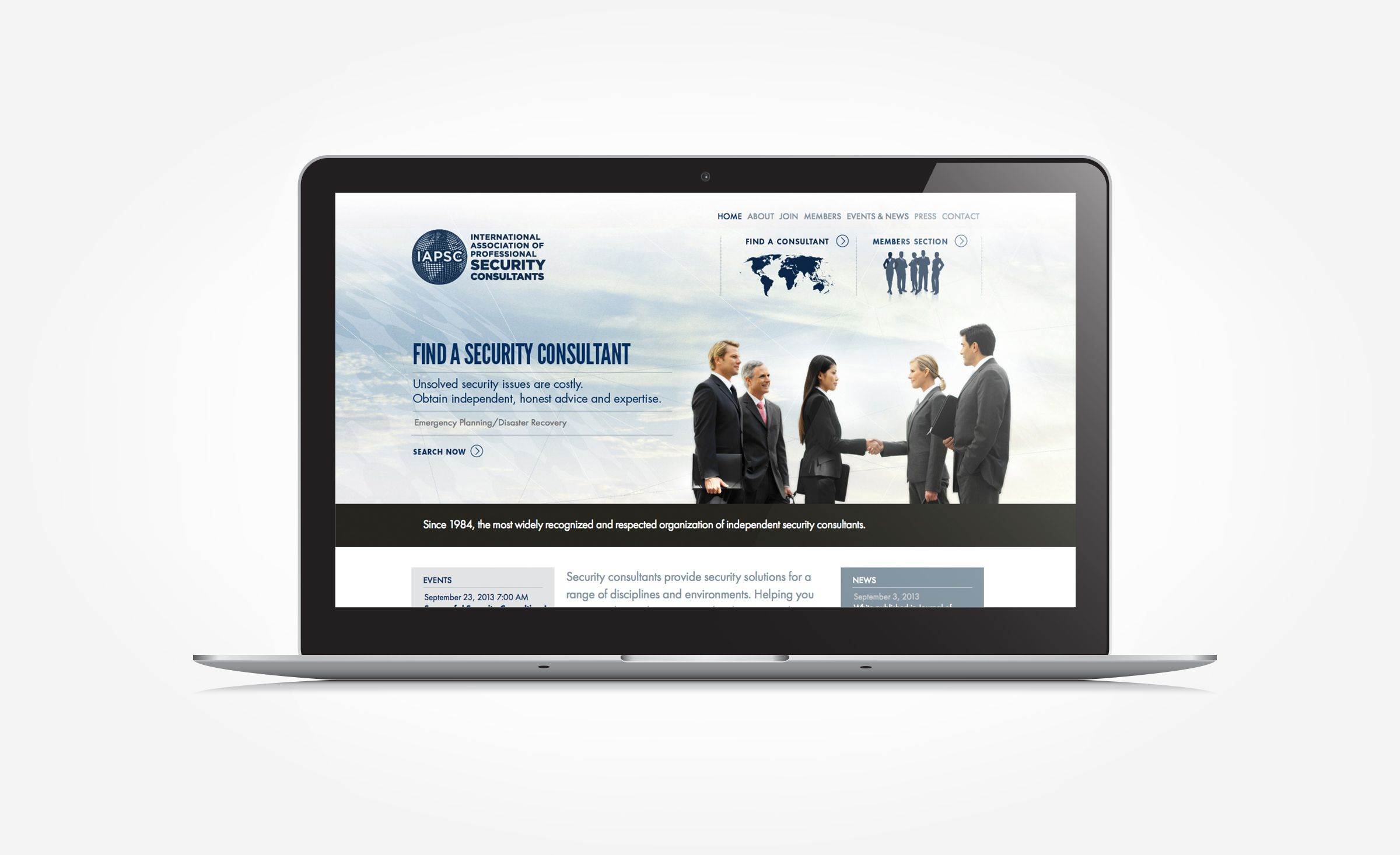 Iapsc Kickcharge Creative Portfolio Web Design Web Design Security Consultant