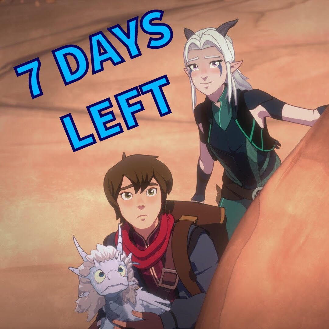 Dragonprinceofficial: ONE WEEK UNTIL SEASON 3!!!  - #3x01 #are #Dragon #kids #my #our #rayllum #s3 #screencaps #Son #spoilers #their #those #with