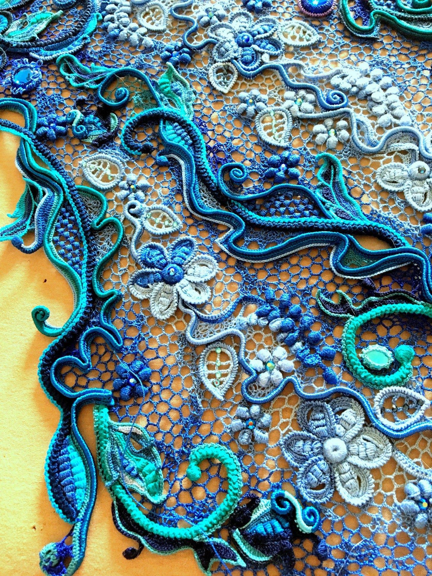 Pin de Дизайнер en Ирландское кружево | Pinterest | Puntos